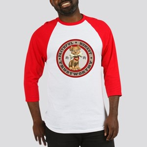 """Year of the Dog [Red & Brown Baseball Jersey"